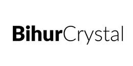 Logotipo de Bihur Crystal